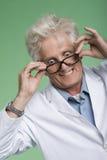 eyed καθηγητής προγραμματισ&t Στοκ φωτογραφία με δικαίωμα ελεύθερης χρήσης