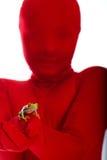 eyed вал красного цвета персоны лягушки стоковые фото