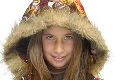 eyed зеленый цвет девушки Стоковое фото RF