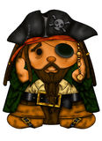 Eyed pirate Stock Photography