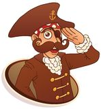 Captain Pirate Stock Photos