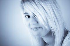 eyed portrait Royalty Free Stock Image