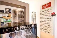Eyeglass σχεδιαστών πλαίσια Στοκ Εικόνες