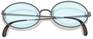 An eyeglass Stock Images