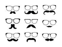 Eyeglass. Illustrator desain .eps 10 Royalty Free Stock Photo