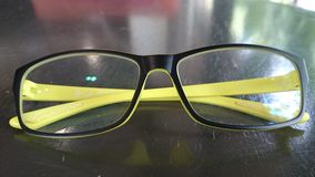 Eyeglass. This 's eyeglass for farsighted Stock Photo