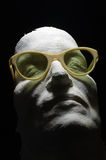 Eyeglass vintage face mask 2 Stock Photography
