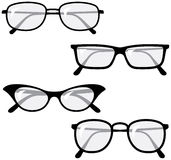 Eyeglasses – Vector illustrations Stock Images