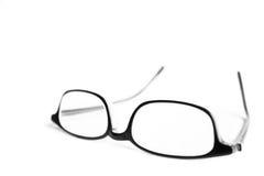 eyeglasses απομόνωσαν το λευκό Στοκ Φωτογραφία
