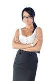 eyeglasses κορίτσι Στοκ εικόνες με δικαίωμα ελεύθερης χρήσης