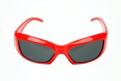 eyeglasses κόκκινο Στοκ Εικόνες