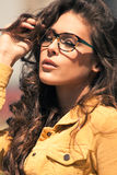 Eyeglasses μόδα Στοκ Φωτογραφία