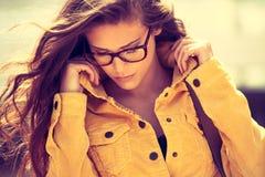 Eyeglasses μόδα Στοκ Εικόνα