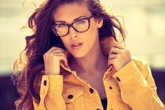 Eyeglasses μόδα Στοκ Εικόνες