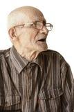 eyeglasses πρεσβύτερος ατόμων sideview Στοκ Εικόνες