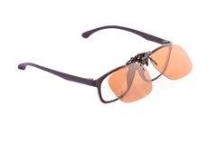 Eyeglasses τα sunglass που απομονώνονται με Στοκ εικόνες με δικαίωμα ελεύθερης χρήσης