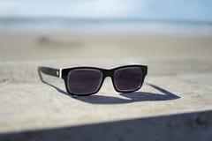 Eyeglasses в пляже океана, пляже океана, Сан-Франциско Стоковая Фотография RF