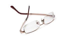 eyeglasses изолировали белизну Стоковые Фотографии RF