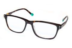 eyeglasses изолировали белизну стоковая фотография rf