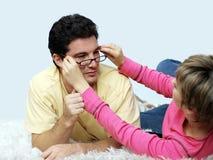 eyeglasses новые Стоковое Изображение