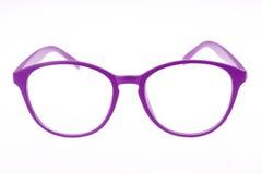 eyeglasses пурпуровые Стоковое Изображение