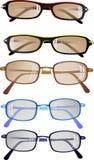 eyeglasses подготавливают солнечные очки для того чтобы нести Стоковое Изображение