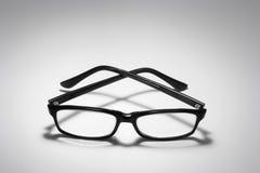 Eyeglasses. Pair of Eyeglasses on Seamless Background Royalty Free Stock Image