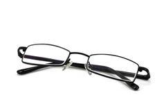 Eyeglasses. Isolated on the white backogrund stock photo