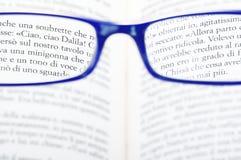Eyeglasses. On the white background stock image