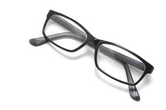 Eyeglasses. A Pair of Eyeglasses on White Background Royalty Free Stock Image