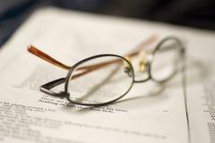 eyeglasses Стоковые Фотографии RF