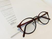 Eyeglasses Fotografia de Stock Royalty Free
