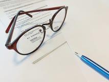 Eyeglasses Fotografia de Stock