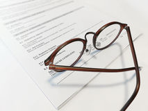 Eyeglasses Imagens de Stock