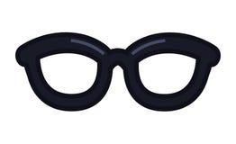 Eyeglasses accessory icon stock images