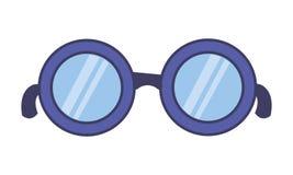 Eyeglasses akcesorium ikona ilustracji