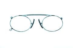 Eyeglasses Antiquarian σε ένα άσπρο υπόβαθρο Στοκ Φωτογραφία