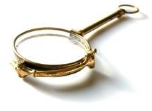 Eyeglasses Antiquarian σε ένα άσπρο υπόβαθρο Στοκ φωτογραφία με δικαίωμα ελεύθερης χρήσης