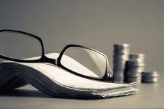 Eyeglasses and bills