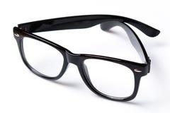 Eyeglasses with black rim Royalty Free Stock Photos
