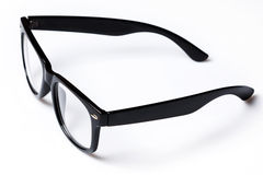 Eyeglasses with black rim Royalty Free Stock Photography