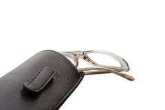 Eyeglasses and Case Royalty Free Stock Photos