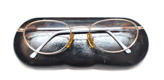 Eyeglasses in case Royalty Free Stock Image