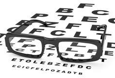 The eyeglasses Stock Photo