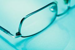 Eyeglasses detail Stock Image