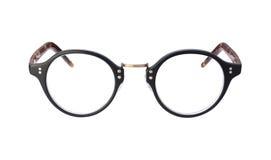 Eyeglasses do vintage isolados com trajeto de grampeamento fotos de stock royalty free