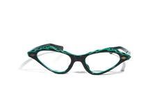 Eyeglasses dos anos 50 imagens de stock