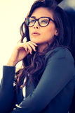 Eyeglasses fashion Stock Photo