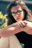Eyeglasses fashion Royalty Free Stock Images