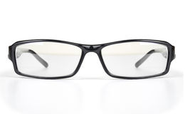 Eyeglasses isolated on the white Stock Photo